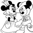 mickey e a princesa minnie